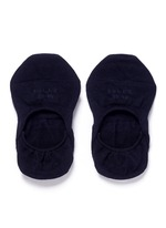 'Invisible Step' ankle socks