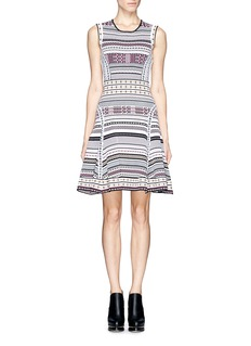 DIANE VON FURSTENBERGEleanor flare knit dress