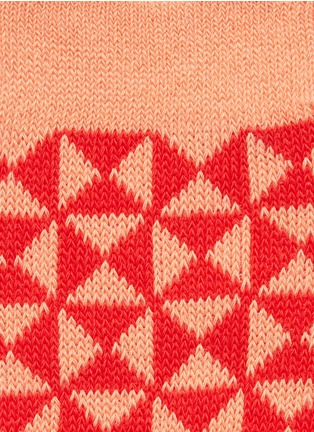 Detail View - Click To Enlarge - HANSEL FROM BASEL - Tile crew socks