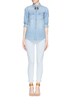 J. CREWStretch Toothpick jeans in Arcade Wash