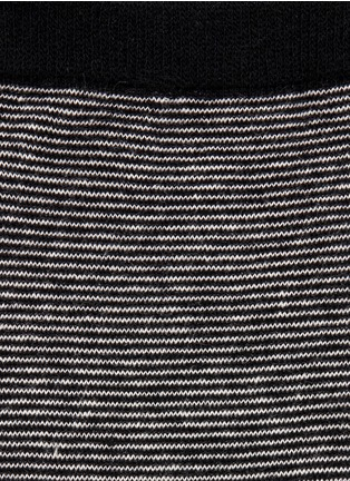 Detail View - Click To Enlarge - HANSEL FROM BASEL - Ministripe crew socks