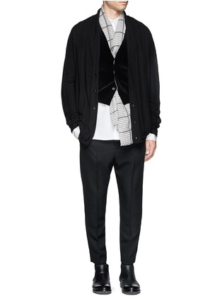Figure View - Click To Enlarge - Haider Ackermann - Cotton pants