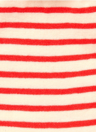 Detail View - Click To Enlarge - HANSEL FROM BASEL - Nautical stripe crew socks