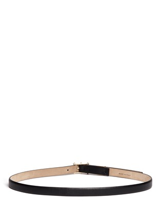 Back View - Click To Enlarge - Valentino - 'Rockstud' leather belt