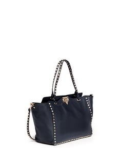 VALENTINO 'Rockstud' medium leather tote