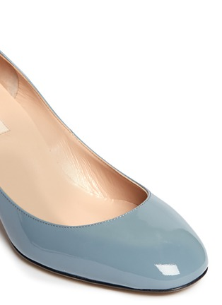 Detail View - Click To Enlarge - Valentino - Patent leather ankle strap pumps
