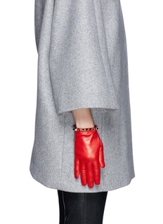 VALENTINO 'Rockstud' short leather gloves