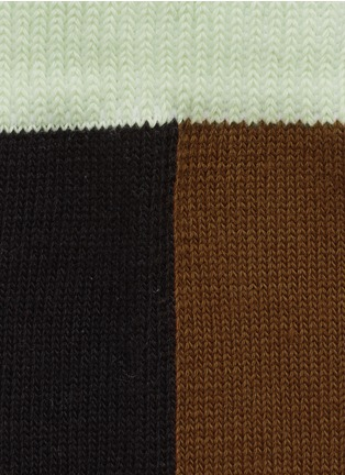 Detail View - Click To Enlarge - HANSEL FROM BASEL - Mismatch crew socks