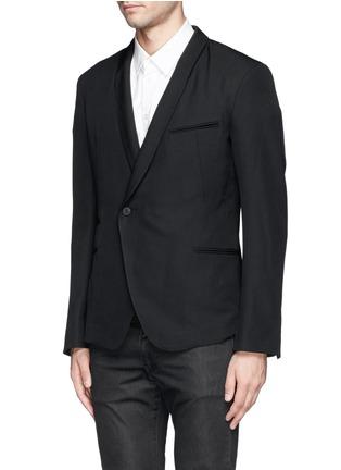 Haider Ackermann-Double breasted shawl collar blazer