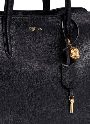Detail View - Click To Enlarge - Alexander McQueen - 'Padlock' medium leather tote