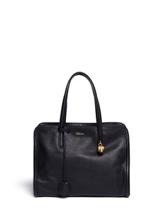 ALEXANDER MCQUEEN 'Padlock' medium leather tote