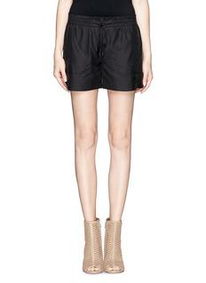 VINCEDraped boxer shorts