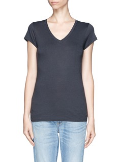 VINCEV-neck jersey T-shirt