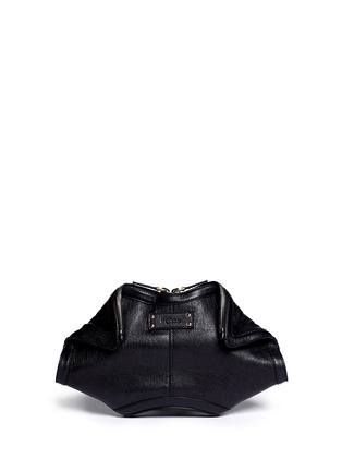 Main View - Click To Enlarge - Alexander McQueen - 'De Manta' leather clutch