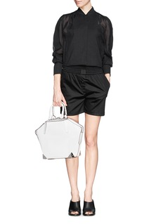 ALEXANDER WANG  Emile small 3D mesh leather tote
