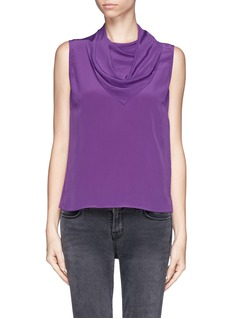 SANDRO Scarf front tank top