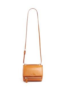 GIVENCHY'Pandora box' mini leather bag