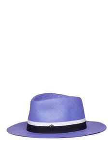 Maison Michel'Thadee' swirl straw Panama hat