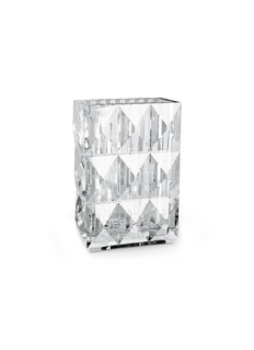 Baccarat Louxor diamond cut vase