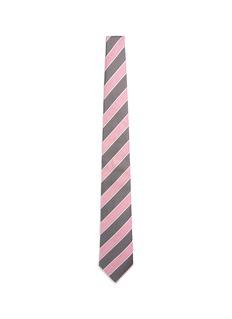 ISAIAStripe silk-blend tie