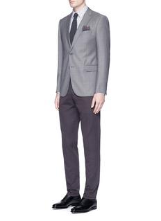 BoglioliCotton-linen twill pants