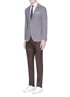 LardiniWoven cotton soft blazer
