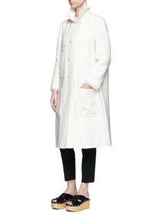 Isabel Marant'Ellery' virgin wool blend twill coat