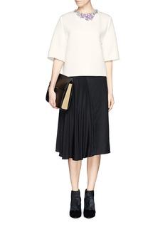 3.1 PHILLIP LIMJewel neckline blouse