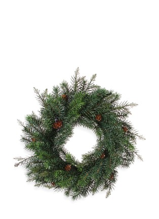 Main View - Click To Enlarge - Shishi As - Fir Christmas wreath