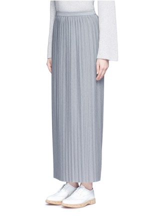 Front View - Click To Enlarge - Theory - 'Osnyo' plissé pleat maxi skirt