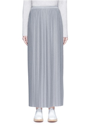 Main View - Click To Enlarge - Theory - 'Osnyo' plissé pleat maxi skirt