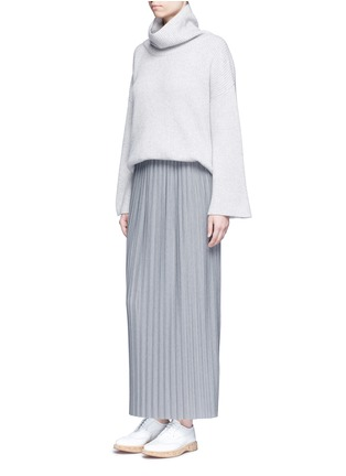 Figure View - Click To Enlarge - Theory - 'Osnyo' plissé pleat maxi skirt