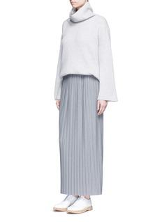 THEORY'Osnyo' plissé pleat maxi skirt
