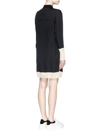 Back View - Click To Enlarge - rag & bone - 'Anita' two tone shirt dress