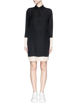 Main View - Click To Enlarge - rag & bone - 'Anita' two tone shirt dress