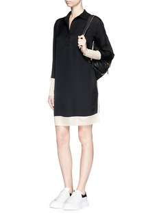 RAG & BONE 'Anita' two tone shirt dress