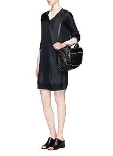 RAG & BONE'Maude' silk twill shift dress