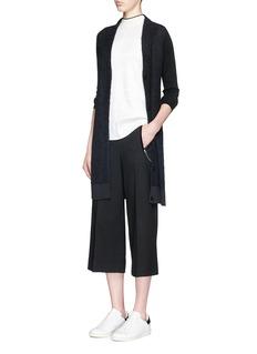 RAG & BONE'Petra' Merino wool sleeve mohair-alpaca cardigan