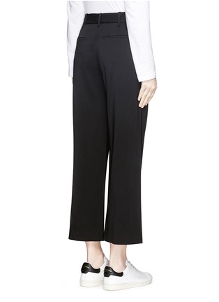 Back View - Click To Enlarge - rag & bone - 'Corey' wide leg cropped pants