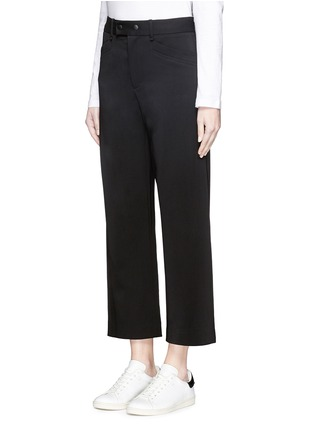 Front View - Click To Enlarge - rag & bone - 'Corey' wide leg cropped pants