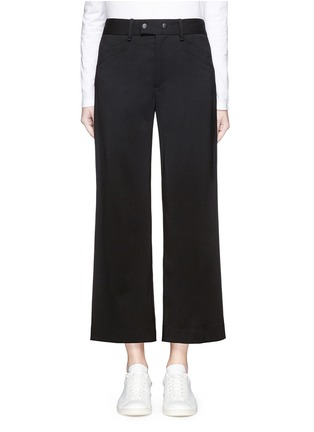 Main View - Click To Enlarge - rag & bone - 'Corey' wide leg cropped pants