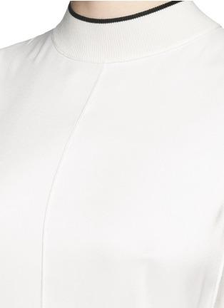 Detail View - Click To Enlarge - rag & bone - 'Edie' mock neck crepe top