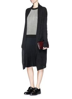 RAG & BONE'Leila' stripe jersey knit top