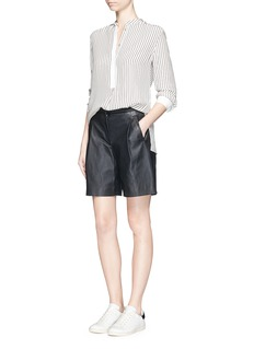 RAG & BONE 'Virginia' stripe silk satin shirt