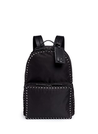 Valentino - 'Rockstud' nylon backpack