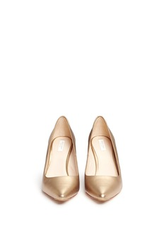COLE HAAN 'Emery' leather wedge pumps