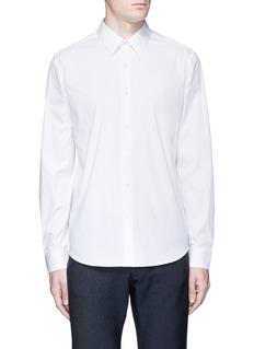 Theory'Sylvain' stretch poplin shirt