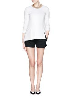 DIANE VON FURSTENBERG'Naples' crepe shorts