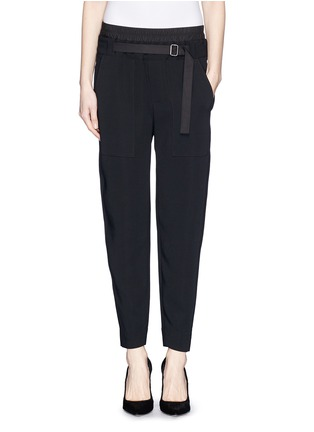 Main View - Click To Enlarge - Helmut Lang - Slouch cropped pants