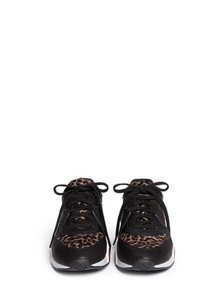 Figure View - Click To Enlarge - Ash - 'Hendrix' leopard print leather suede sneakers